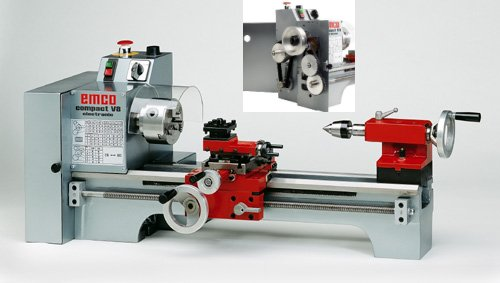 Emco Compact V8 Conventional Lathe - Metric